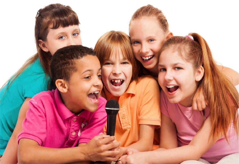 Картинки поющих детей фото